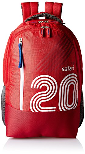 Wildcraft 22 Ltrs Red Casual Backpack  11436