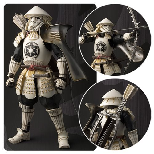 Star Wars Yumi Ashigaru Stormtrooper Meisho Movie Realization Action Figure