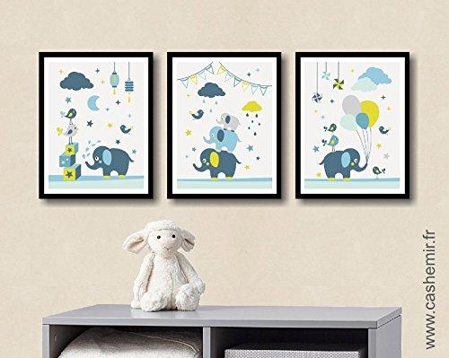 Affiche chambre bébé garçon décoration chambre bébé déco chambre ...