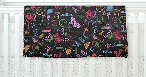 KESS InHouse Snap Studio Kindergarden Crazy Black Rainbow Fleece Baby Blanket 40 x 30 [並行輸入品]   B0785RM46J