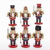 Kurt Adler 8'' Wooden Chubby Soldier & King Nutcrackers 6/asstd. 9/asstd TO Pdq