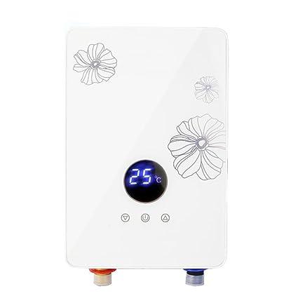 6KW, 220V, Calentador de Agua eléctrico instantáneo de la Temperatura Constante, tocador,