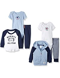 Carter's Boys' 6-Piece Jacket, Pant and Bodysuit Set