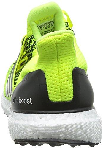 online store 0f954 bf3ce ... Adidas Mens Ultra Boost Scarpe Da Corsa - Giallo Solare - Cuscino  Neutro Giallo ...