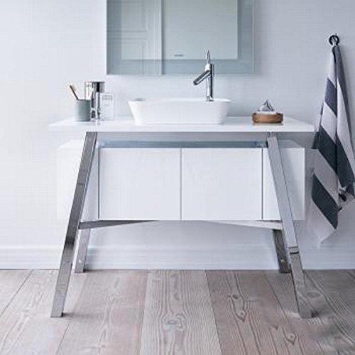 Floor-Standing Cape Cod Vanity Unit, White ()