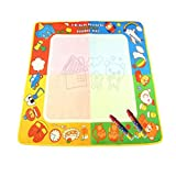 Coolplay® 72X69cm Colorful Water Drawing Doodle Mat with Two Magic Pen