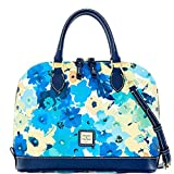Dooney & Bourke Somerset Watercolor Zip Zip Satchel