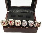 6 PCS Alabama Crimson Tide Championship Rings In