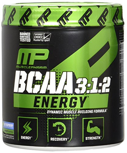 MusclePharm BCAA Supplement Raspberry Servings product image