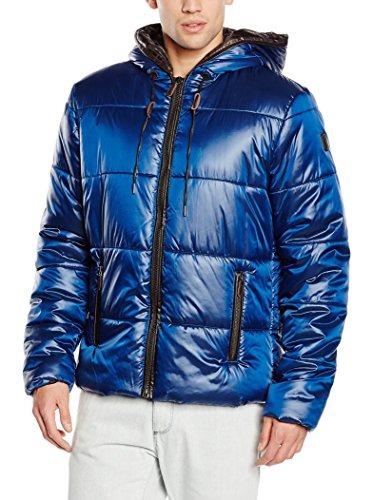 50 Trussardi Trapuntata Shiny Blu Giacca It Tru BSqxHwH