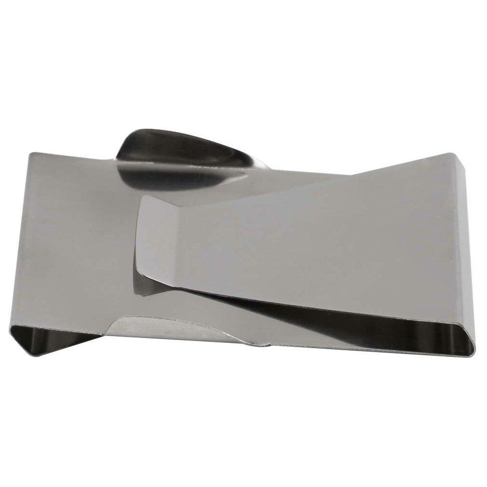 RXYYOS® Elegante diseño Metal dinero clip tarjeta dinero ...
