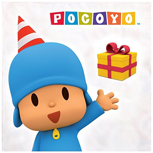 Pocoyo Party Supplies - Lunch Napkins (20) - Pocoyo Costume