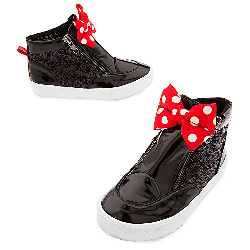Disney Minnie Mouse Sneakers for Kids Size 11 Black ()
