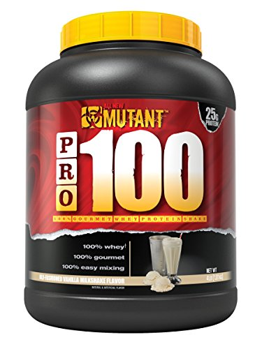Mutant Pro a 100 Whey Protein Shake with No Hidden Ingredients, Comes in Delicious Gourmet Flavors, 4 lb – Old-Fashioned Vanilla Milkshake