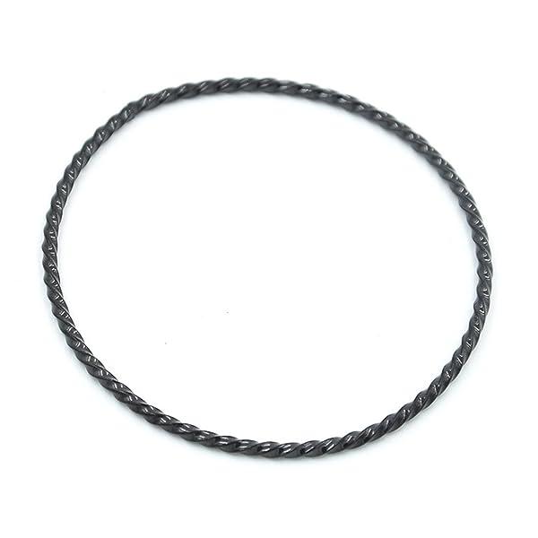 Amazon.com: Hardart Thin Iron Wire Twisting Circles Stainless Steel ...