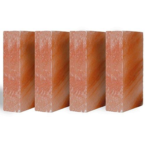 Pink Salt wall Himalayan Salt Brick Set of 20 Size 8''x4''x2'' Crystal Rock Slab Tiles for Home Decor by Pink Salt wall (Image #7)