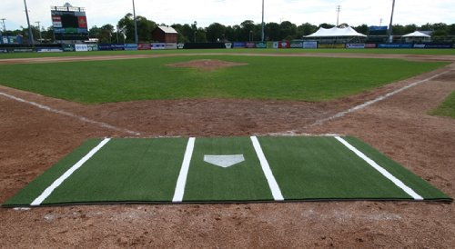 12' x 6' Batting Mat Pro (lined) by ProMounds