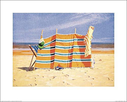 Art Group The Jonathan Sanders (Heatwave) -Art Print 40 x 50cm, Paper, Multicoloured, 40 x 50 x 1.3 cm The Art Group 44773