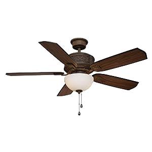 Home Decorators Collection Blanchard 52 in. Indoor Dark Walnut Ceiling Fan