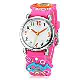 Fashion Brand Quartz Wrist Watch Baby Children Girls Boys Watch Fish Pattern Waterproof Watches