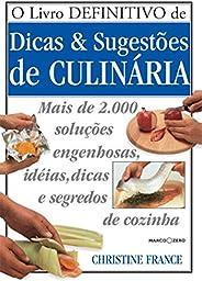 Livro definitivo de dicas e sugestões de culinária