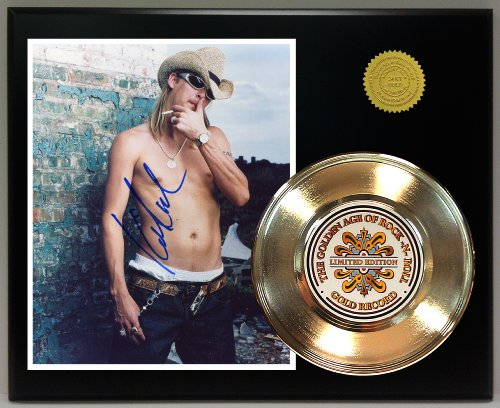 Kid Rock Gold Record Reproduction Signature Series LTD Edition Display