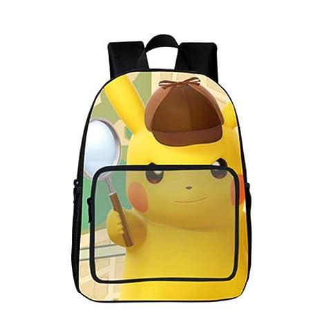 Mochila Pokemon Niños, Pokemon Go Pikachu Mochila Escolar 3D para ...