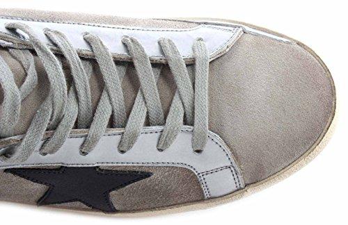 Gouden Gans Herren Schuhe Sneakers Zand Suede Zwarte Ster Italië Nieuw