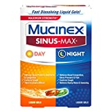 Mucinex Sinus-Max Max Strength Day & Night Liquid Gels, 24ct