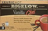 Bigelow Vanilla Chai Black Tea K-Cups 12 ct