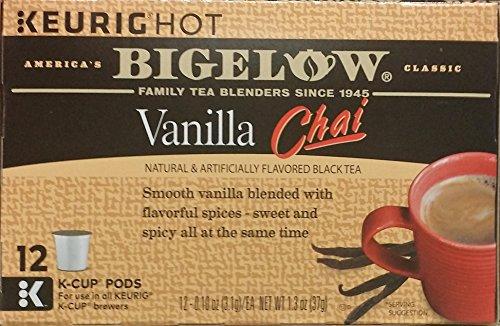 Bigelow Vanilla Chai Black Tea K-Cups 12 ct Vanilla Chai Black Tea