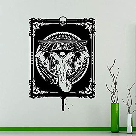 zqyjhkou Dios hindú Ganesha Tatuajes de Pared de Vinilo Elefante ...
