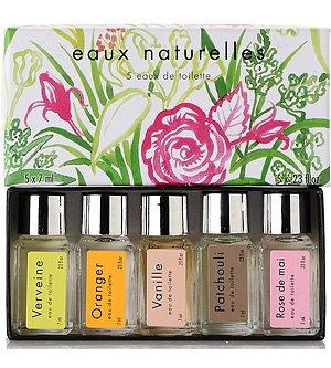 Amazoncom Fragonard Gift Box Of 5 Small Perfumes Eaux Naturelles