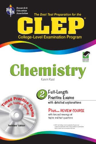 CLEP Chemistry W/CD (REA) - The Best Test Prep for the CLEP
