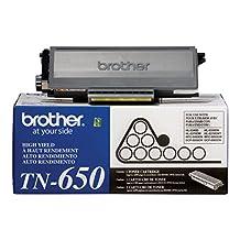 Brother TN-650 High Yield Toner Cartridge