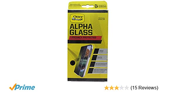 Amazon.com: OtterBox CLEARLY PROTECTED ALPHA GLASS PRIVACY for Samsung Galaxy S6: Cell Phones & Accessories