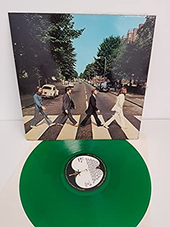 THE BEATLES Abbey Road GREEN VINYL PCS 7088 12quot