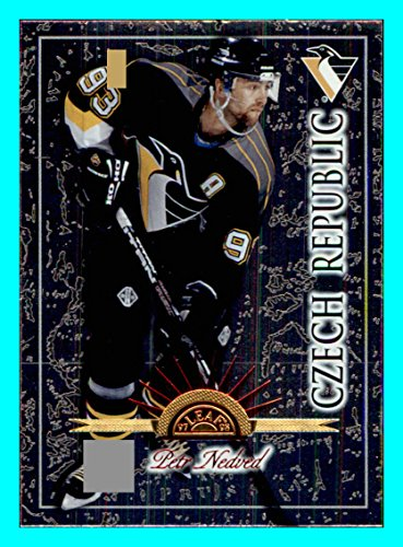 1997-98 Leaf International #51 Petr Nedved PITTSBURGH PENGUINS CZECH - Flat Rate Shipping International