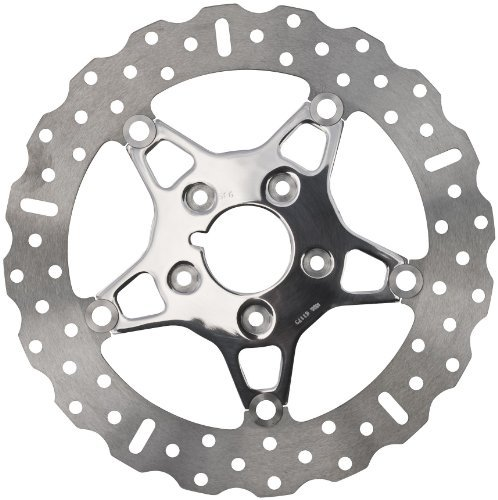 EBC Brakes FSD012 2.25'' Stainless Steel Front Wide Band Brake Rotor with 5 Button Full Floater