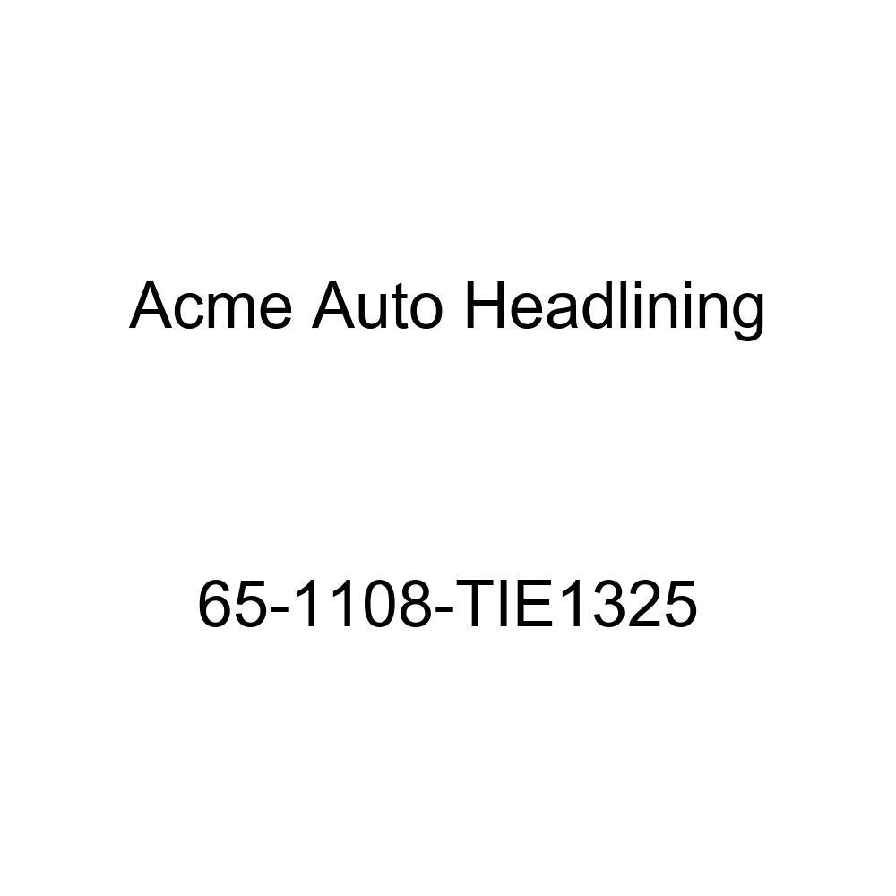 Acme Auto Headlining 65-1108-TIE1325 Green Replacement Headliner Buick Electra 225 4 Door Sedan 6 Bow