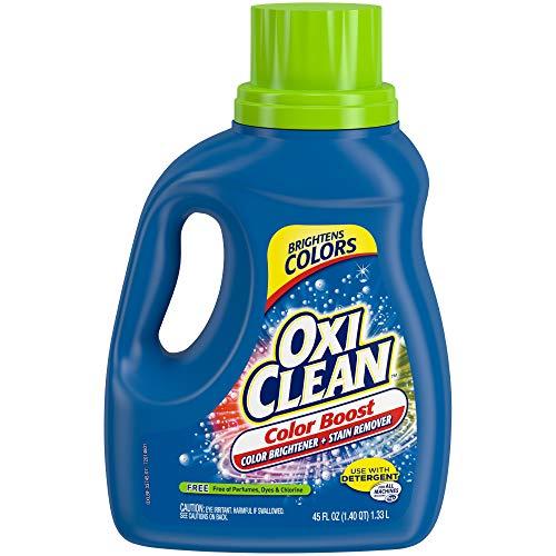 OxiClean Color Boost Color Brightener plus Stain Remover Liquid FREE 45oz