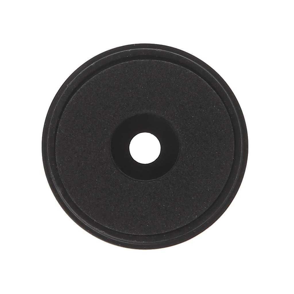 JERKKY 12Pieces Smorzamento Assorbimento degli Urti per Altoparlanti Stereo Altoparlanti Piedini Pad Nero S #
