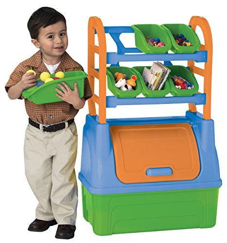 American Plastic Toy Organizer - Colors May Vary by American