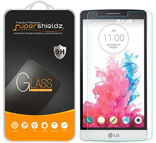Supershieldz for LG G3 Tempered Glass Screen Protector, Anti-Scratch, Anti-Fingerprint, Bubble Free, Lifetime Replacement Warranty