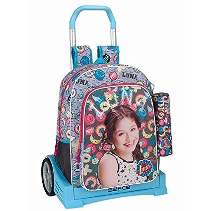 Soy Luna - Bolsa escolar azul: Amazon.es: Equipaje
