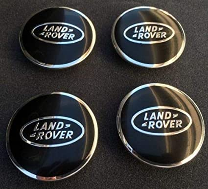 4 tapacubos para Land Rover Range Rover LR de 63 mm y 6,35 cm