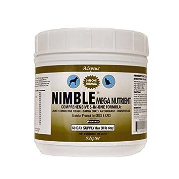 Adeptus Nutrition Nimble Mega Nutrient Pet Food, 480 g 5 x 5 x 4.5