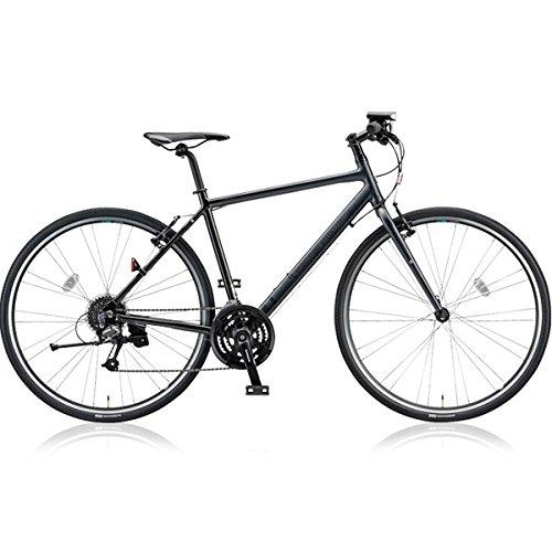 ブリヂストングリーンレーベル(BRIDGESTONE GREEN LABEL) クロスバイク CYLVA(シルヴァ) F24 VF2454 マットグロスブラック 540mm B076DSQBCP