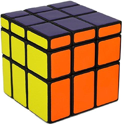 Mirror Cube Ultimate - 3x3 Zauberwürfel verändert die Form (Shape-Shift) - Speed-Cube mit Cornercutting - bunte Standardfarben - Denksport