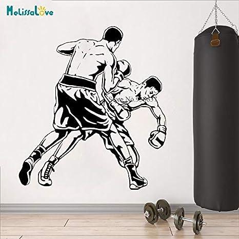 Boxeo Lucha Deportes Vinilo Removible Etiqueta de la pared Niño ...